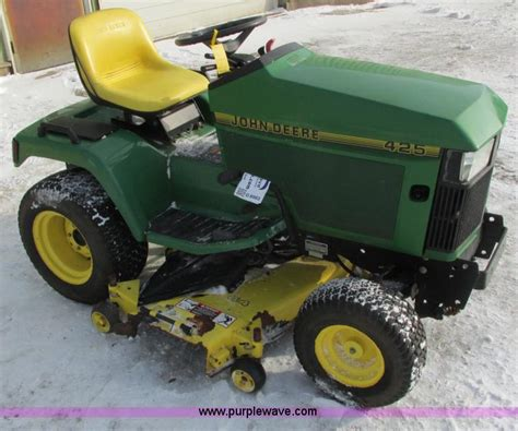 1994 deere 425 lawn mower no reserve auction on monday march 24 2014