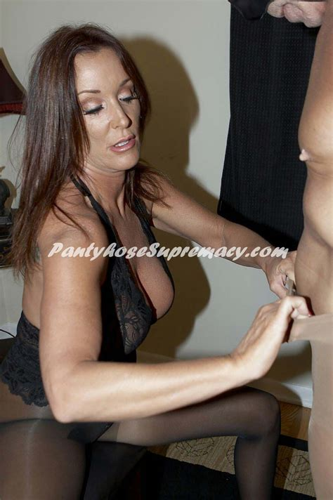 Rachel Steele Pantyhose Milf Domination Nylon In
