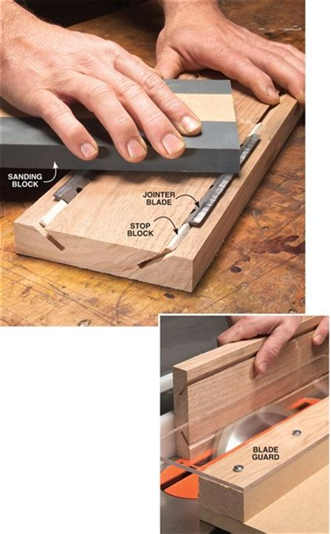 aw extra  sharpening jig  jointer  planer