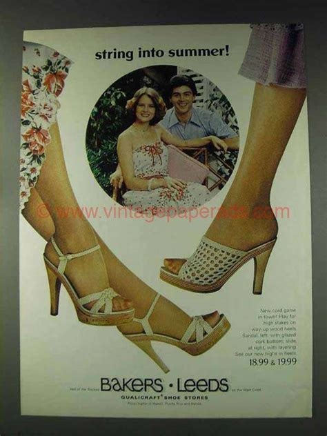 bakers leeds highs  heels shoes ad string