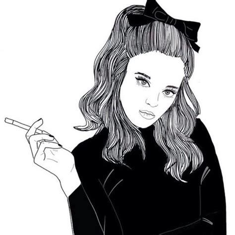 chambre ado stylé bow cigarette cigarettes draw