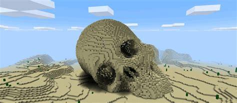 ancient human skull creation minecraft pe maps