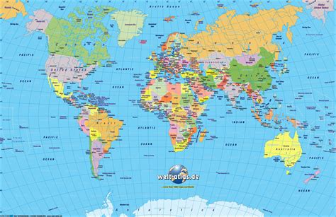 Carte Monde Pays Capitales by World Map Country Names Capitals Copy Europe Map Countries