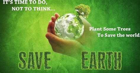 designs save earth poster  photoshop