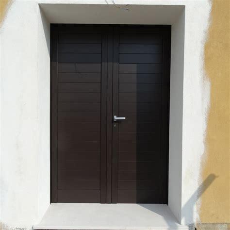 Porta Ingresso Alluminio by Doppia Porta Ingresso In Alluminio Porte Portoncini