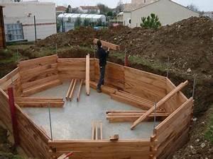 Piscine Hors Sol 6x4 : inspiration piscine en kit bois enterrer ~ Melissatoandfro.com Idées de Décoration