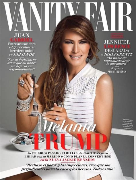 vanity fair mexico melania s magazine cover as is