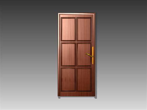 Copper door 3d model 3dsMax,3ds,AutoCAD files free