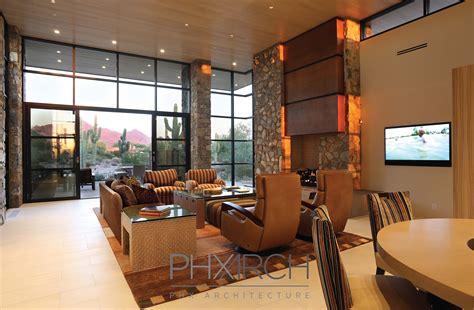 custom home interior project spotlight contemporary dc ranch home phx