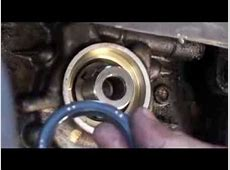 9599 Nissan Sentra Crank Oil Seal YouTube