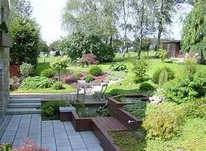 Jardin en pente avec fontaine jardin pinterest for Exceptional amenager jardin en pente 0 amenagement jardin en pente idees comment vous faciliter