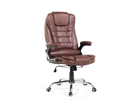 chaise de bureau marron fauteuil de bureau chaise de bureau en simili cuir