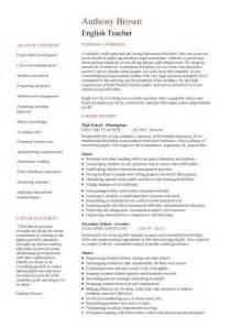 Curriculum Vitae Templates Teachers by Resume Template Cv Exles Teaching Academic School Tutor Description