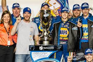 Championship victory lane: NASCAR Nationwide Series 2014 ...