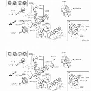 Nissan Sentra Engine Piston  Model  Illustration  Year