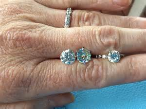 amora gem compared to forever brilliant moissanite and f colored weddingbee - Catholic Wedding Gifts