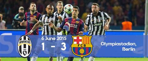 Juventus Barcelona 2015 - The Rewind: Juventus 1-3 ...