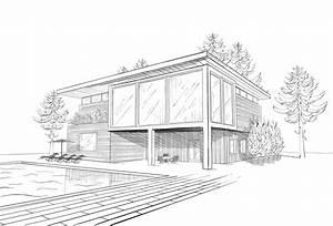 Architektur Haus Zeichnen : der weg zum eigenen holzhaus ~ Markanthonyermac.com Haus und Dekorationen