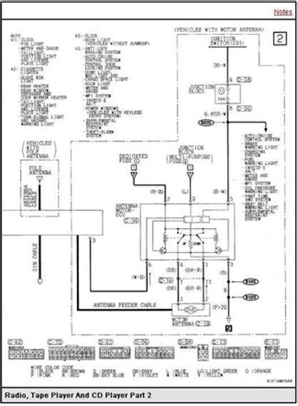 2005 Mitsubishi Endeavor Radio Wiring Diagram by Mitsubishi Montero Sport Questions Need Factory Stereo