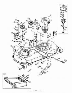 Mtd 13ax915t004  2012  Parts Diagram For Mower Deck 46