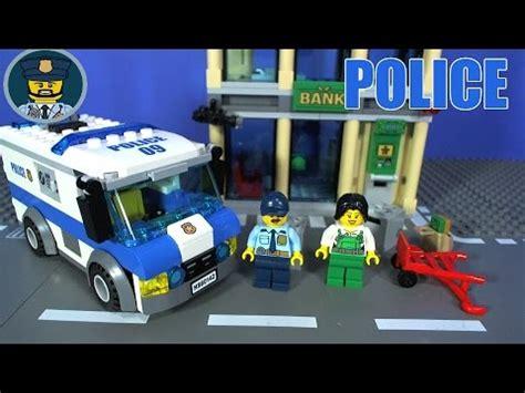 lego city police money transporter  youtube