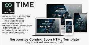 Time  Css Website Template