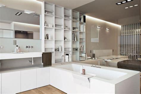 chambre salle de bain ouverte une salle de bain ouverte sur la chambre pour ou contre