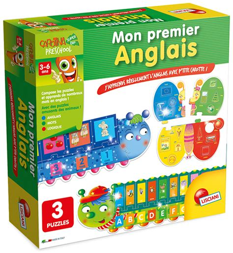 carotina preschool jeu mon premier anglais jouet