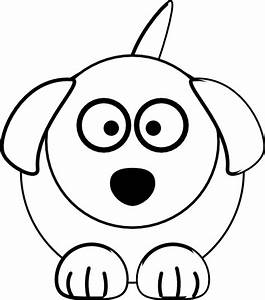 Black And White Dog Clip Art at Clker.com - vector clip ...