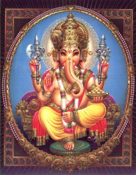 Indian Heritage  Hindu Gods  Ganesha  Mythic Art