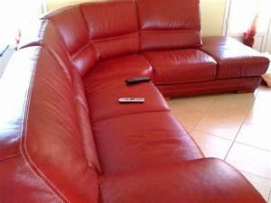 Peinture Pour Tissu Canapé : recherce id es couleur tapisseries pour canap cuir rouge bo ~ Premium-room.com Idées de Décoration