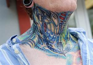40 Cool Neck Tattoos