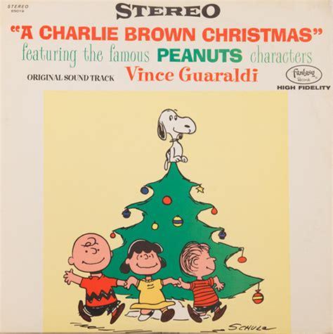 vince guaraldi trio a charlie brown christmas lp vince guaraldi a charlie brown christmas discogs