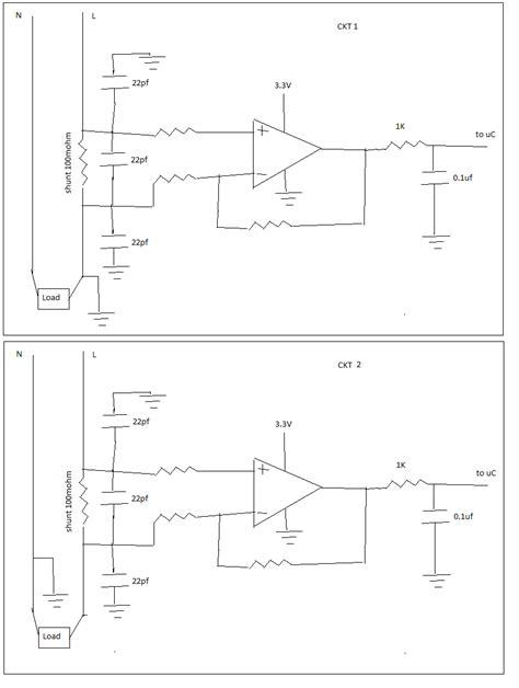 Microcontroller Current Measurement Using Shunt
