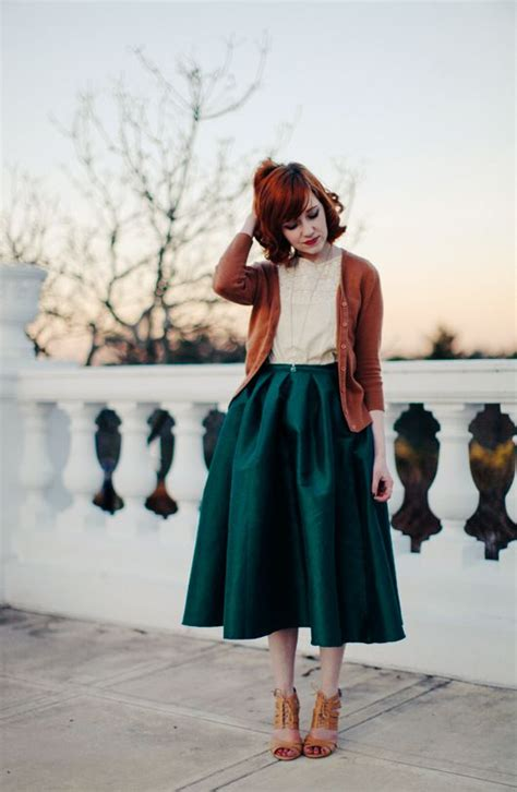 wear rust color dress   parisian