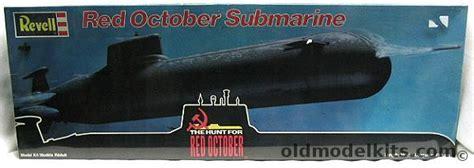 revell  red october submarine hunt  red october
