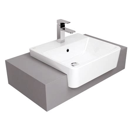 american standard semi recessed sink acacia evolution semi counter wash basin tf 0519 wasser