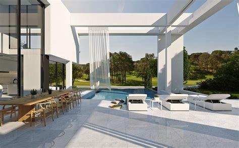 elegant modern villa  algarve modern villas