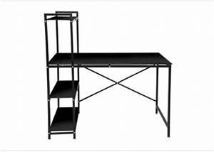 Bureau Metal Noir : des petits bureaux pour un coin studieux joli place ~ Teatrodelosmanantiales.com Idées de Décoration