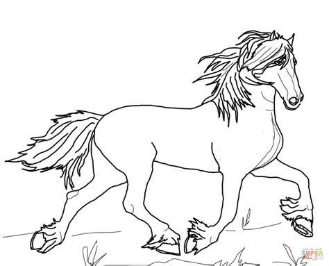 foto de Kolorowanka Koń fryzyjski Kolorowanki dla dzieci do druku