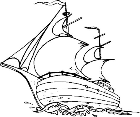 How To Draw A Pilgrim Boat by Thanksgiving Coloring Book Pages Thanksgiving Coloring