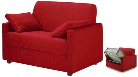 petit canapé convertible 2 places fauteuil lit pas cher tissu fauteuil convertible