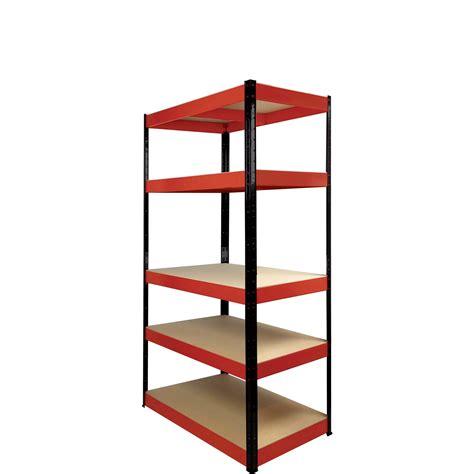 standing l with shelves shelf kit 5 wood shelves black l 1800x h 900x d
