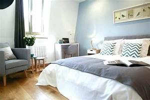 Chambre Parentale Cosy : decoration peinture chambre parentale id es de travaux ~ Melissatoandfro.com Idées de Décoration