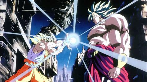 Super Saiyan Hd Wallpaper Goku Vs Broly Wallpaper Wallpapersafari