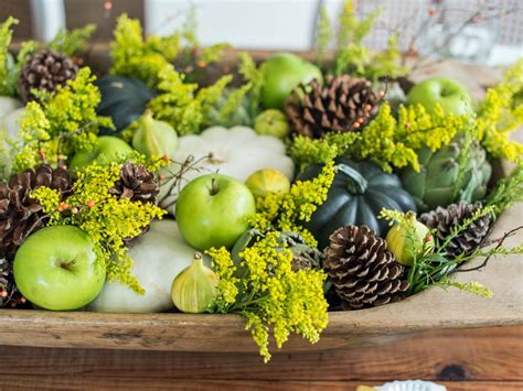 Easy Centerpieces For Thanksgiving Or Fall Parties