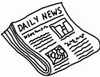Image result for Cartoon Images of newspapers