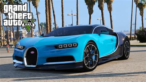 Bugatti chiron mod for gta 5. GTA 5 Supercars Mod - Bugatti Chiron 2017 (418km/H) - YouTube