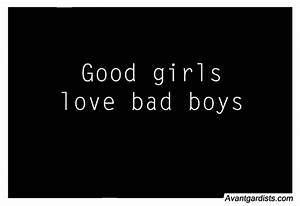 GOOD GIRL BAD BOY QUOTES TUMBLR image quotes at relatably.com
