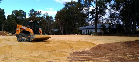 hire perth excavation earthmoving equipment bobcat hire  perth dobson excavations